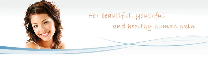 For Beatiful, youthful, and healthy human skin